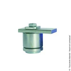 Pivot à souder supérieur réglable à roulement D45 acier