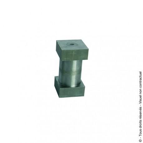 Jonction pour tube carré pour portail