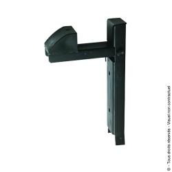 Arrêt de portail réglable à sceller en acier