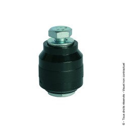 Olive de guidage nylon cylindrique D36